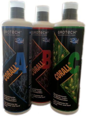 GroTech Spurenelemente Corall A, B, C