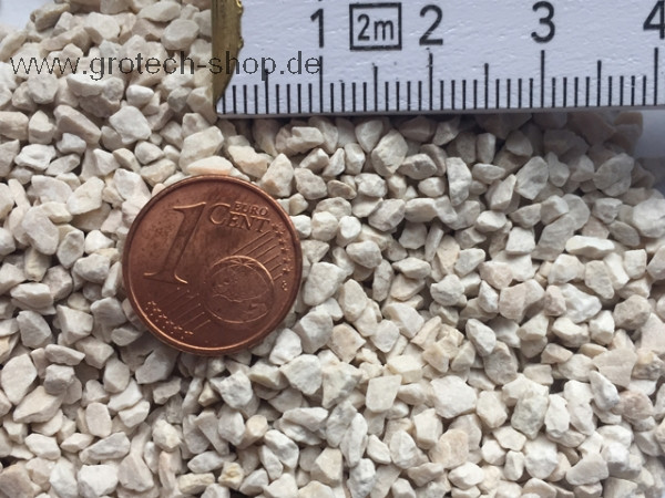 GroTech White Sand 2 mm -3 mm 25 kg Eimer