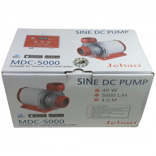 Jebao MDC-5000 WIFI Förderpumpe 5.500 l/h 40 Watt Hmax 4.0 m