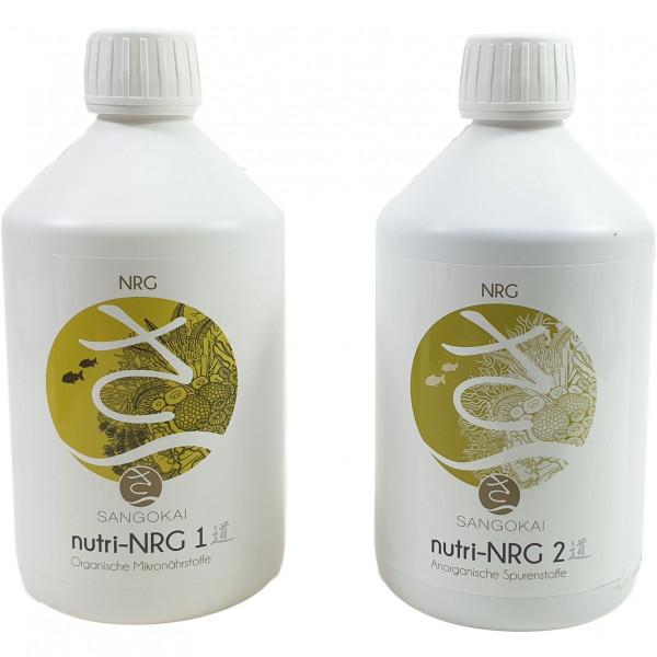 Sangokai nutri-NRG-System #1 + 2 im Bundle verschiedene Packungsgrößen