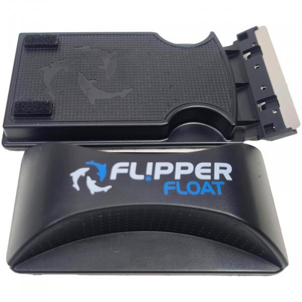 Flipper Standard Float Magnetscheibenreiniger | bis 12 mm | schwimmend | verbesserte Klingen