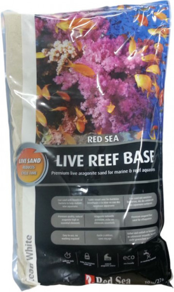 Red Sea Reef Base Live Sand 10 kg 0,25-1 mm *Transportschaden*
