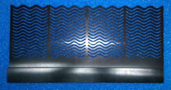 Überlaufkamm 320 x 150 mm mit Tasche