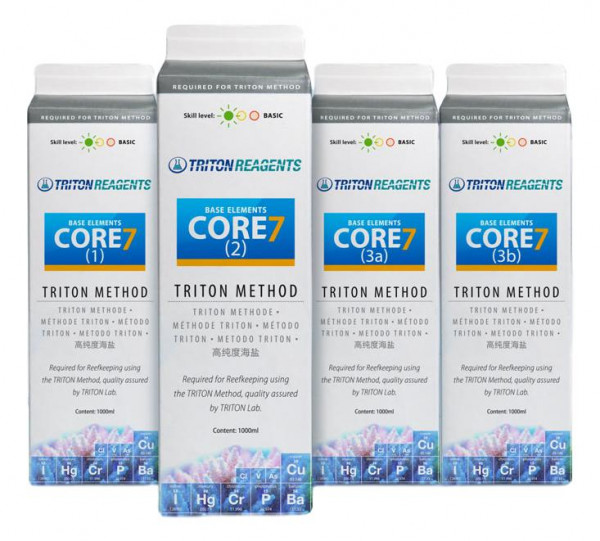 TRITON CORE 7 Base Elements 4x1000 ml für die Triton Methode