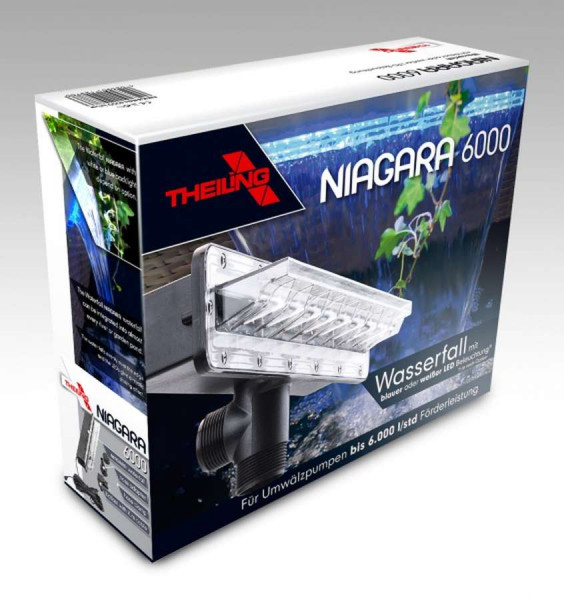 Theiling Niagara Wasserfall mit LED Beleuchtung