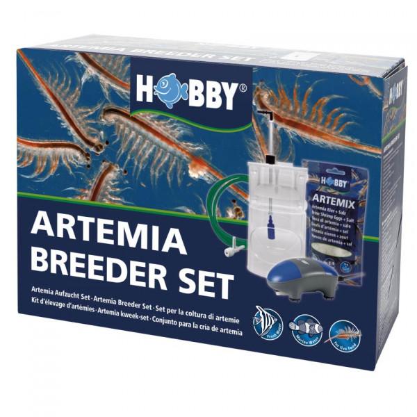 Hobby Artemia Breeder Set komplett mit Pumpe, Salz, Eiern, Schlauch, Pipette
