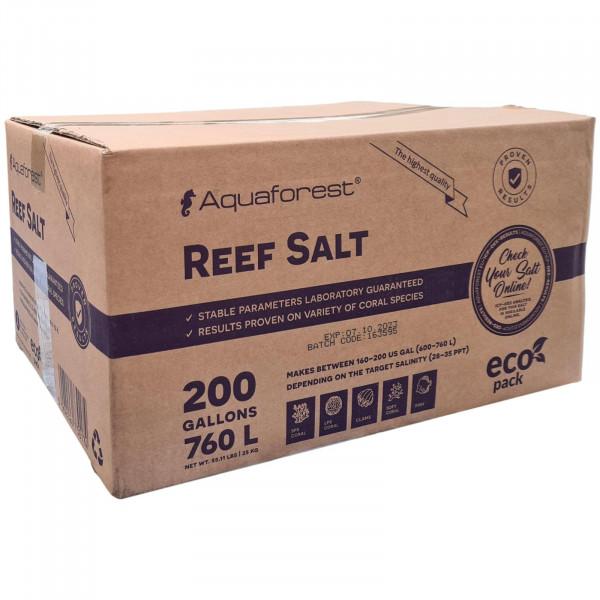 Aquaforest Reef Salt 25 kg Karton Meersalz