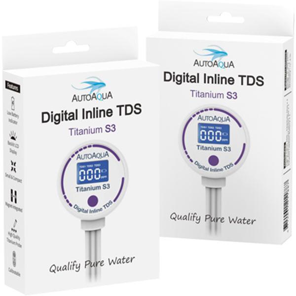 AutoAqua Digital Inline TDS - Titanium S3