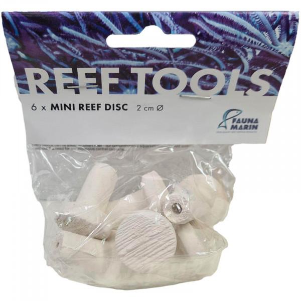 Fauna Marin Reef Disc Mini 2 cm 6 Stück