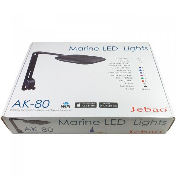 Jebao AK-80 WIFI LED Spot Leuchte 80 Watt
