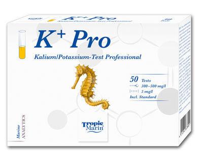 Tropic Marin K+ Pro - Kalium-Test Professional für Meerwasseraquarien