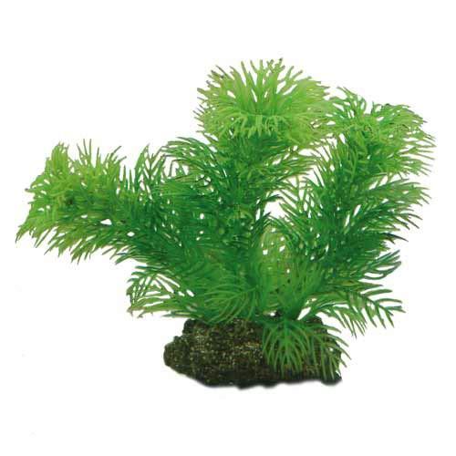 Hobby Egeria 13 cm Kunstpflanze für Aquarien | Künstliche Wasserpflanze