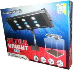 LED Clip on Light UltraBright 9 x 1 Watt LED