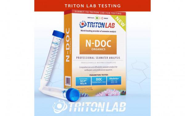 Triton N-DOC LAB Test Meerwasseranalyse