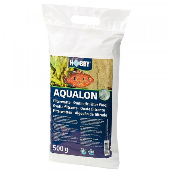 Hobby Aqualon Filterwatte 500 g für Süß- und Meerwasseraquarium