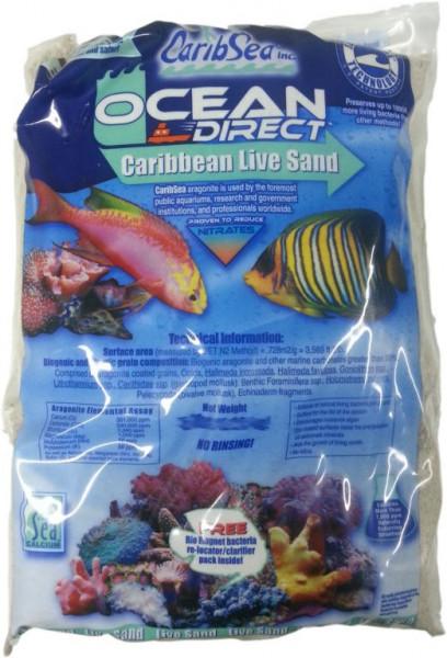 CaribSea Ocean Direct Original Grade |Livesand etwas gröbere Körnung