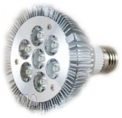 LED Spot 7x1 Watt 230 V E27 Gewinde