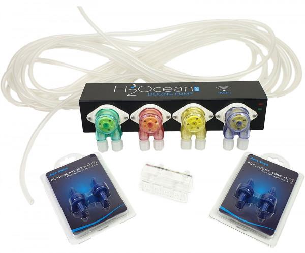 H2Ocean 4-fach Dosierpumpe P4 Pro mit Zubehör