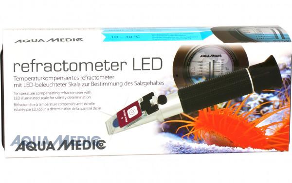 Aqua-Medic Refractometer mit LED-Beleuchtung
